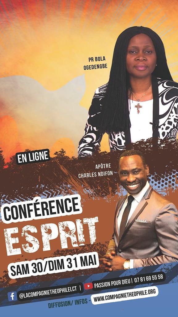 Conférence Esprit, guérison délivrance