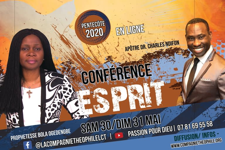 Conference esprit 20 Ps BOLA OGEDENGBE / DR CHARLES NDIFON